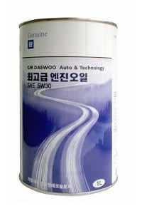 GM DAEWOO ENGINE OIL / Моторное масло, 1 л.