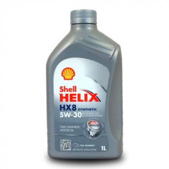 SHELL HELIX HX8 SYNTHETIC 5W-30 / Моторное масло 1 л.