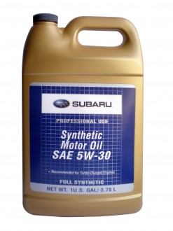 SUBARU SYNTHETIC SN 5W-30 / 3,785 л.